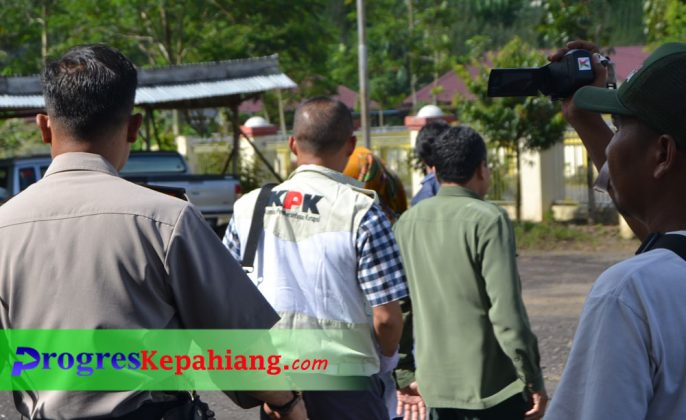 Satgas KPK keluar gedung PN Kepahiang