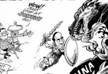 Karikatur jokowi
