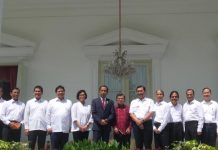 Menteri baru kabinet kerja