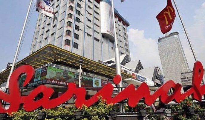 Gedung mall Sarinah