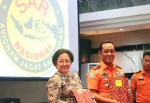 Megawati di Basarnas