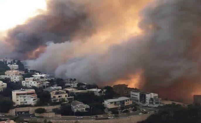 Kebakaran Israel