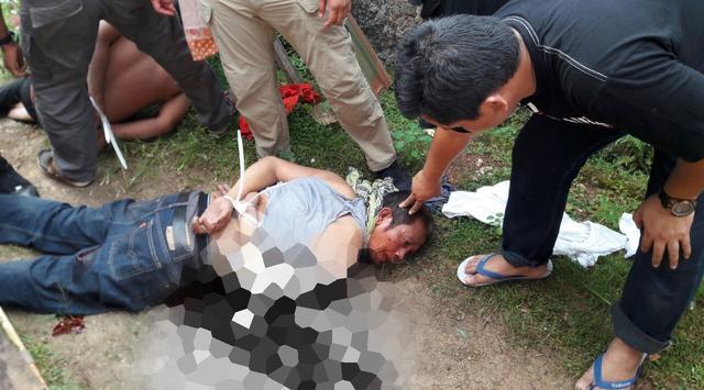 Pelaku Perampokan Pulomas Saat Diringkus Polisi / foto : Istimewa