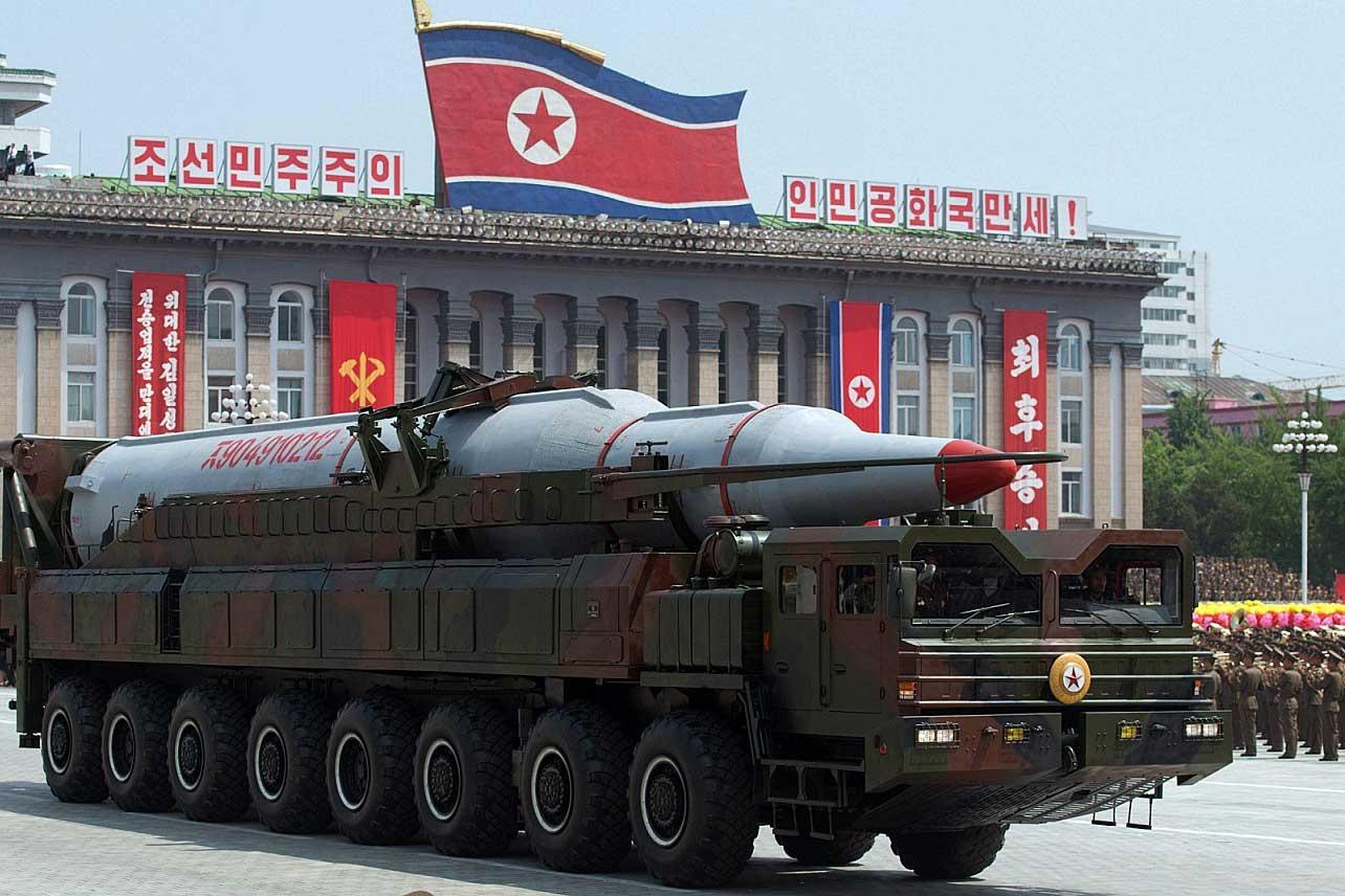 Korea utara luncurkan rudal balistik hanya berselang beberapa hari setelah Korea Selatan (Korsel) melakukan latihan militer gabungan bersama Amerika Serikat (AS)   Foto : gettyimages