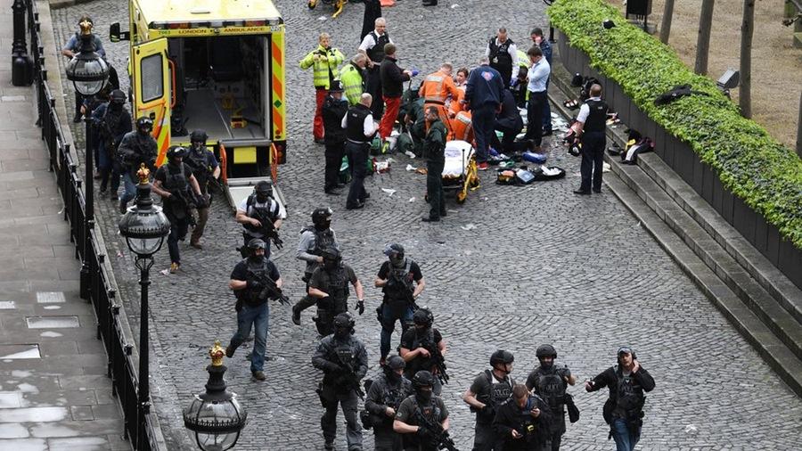 Aksi Teror yang terjadi di London/ Foto: detiknews.com