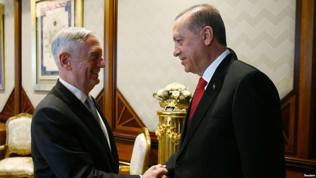 Erdogan dan Mattis
