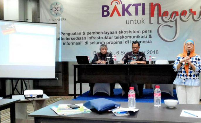 Seminar Dewan Pers Bakti