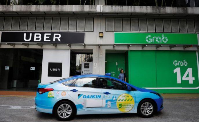 Uber dan Grab