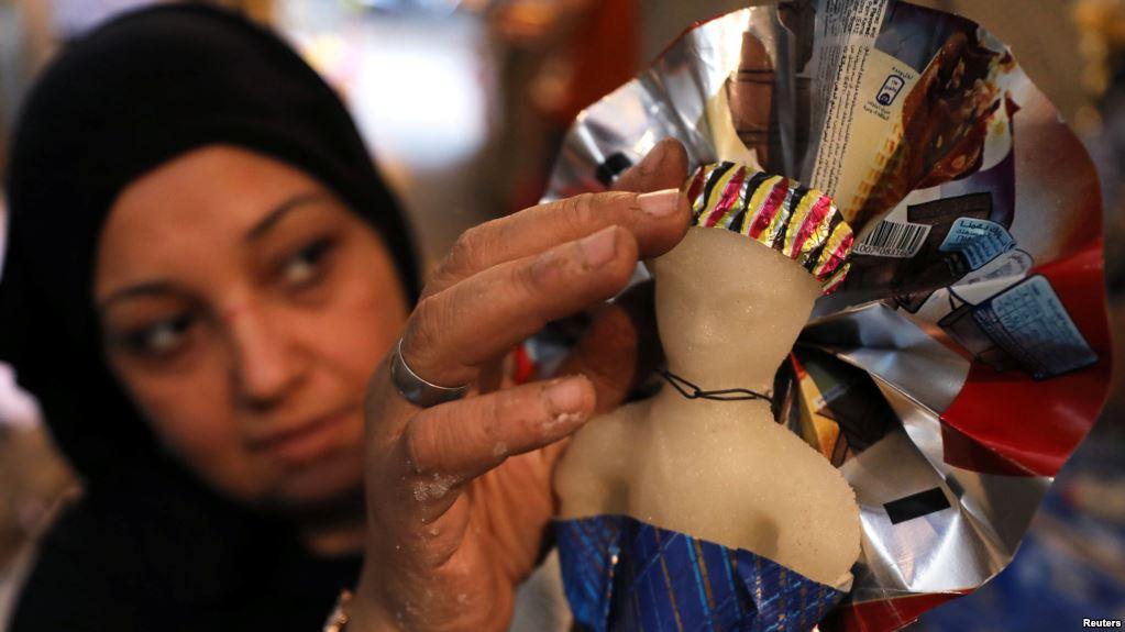Boneka Gulali Maulid Nabi di Mesir