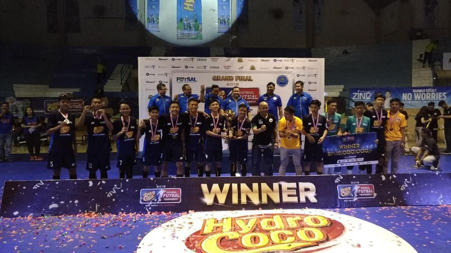 Hydro Coco Cup National Futsal Tournament 2018 (Foto: Detikcom)
