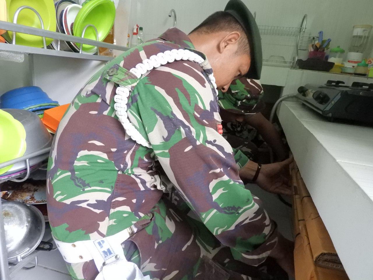 Sidak rumah prajurit