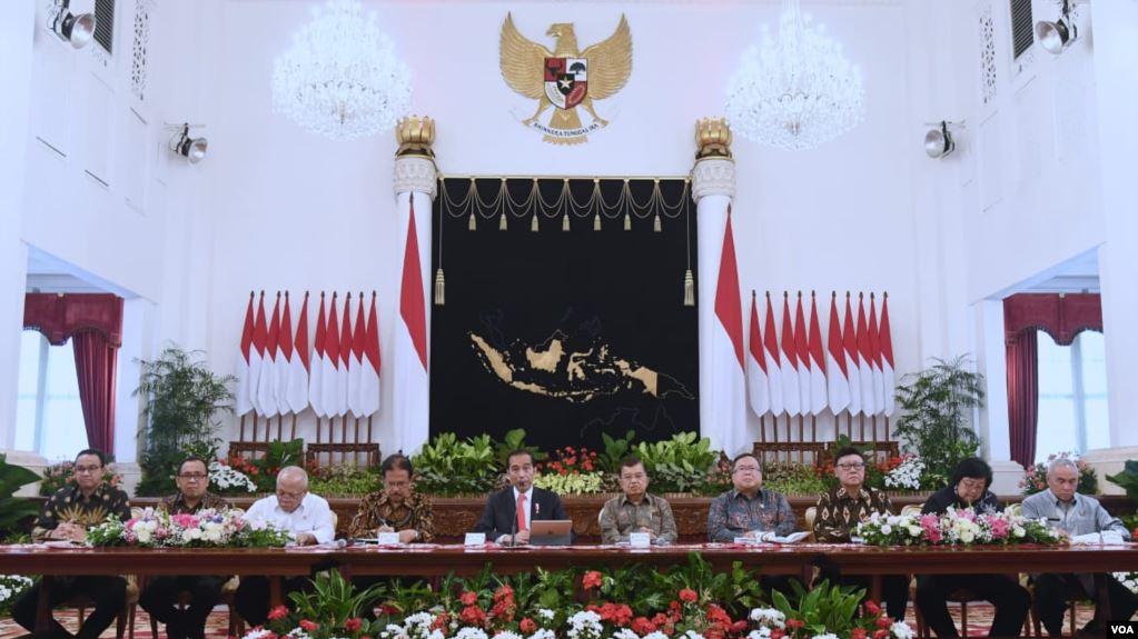Konferensi pers presiden