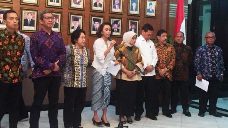 Pansel Calon Pimpinan KPK 2019 (Foto: TribunNews.com)