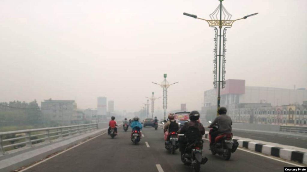 Kabut asap Riau
