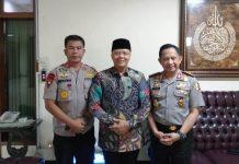 KApolda Supratman gubernur Rohidin dan Kapolri Tito