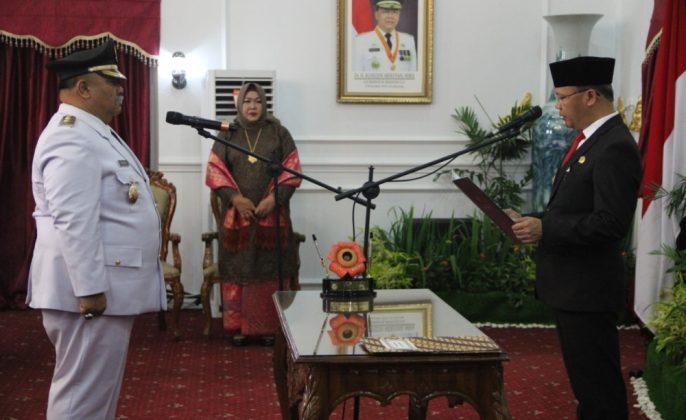 Gubernur Rohidin lantik wabupBS