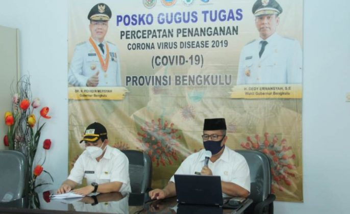 Konferensi pers gugus tugas