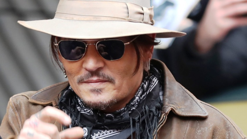 Mandatory Credit: Photo by HAYOUNG JEON/EPA-EFE/Shutterstock (10563102h) Johnny Depp arrives for the 'Minamata' photocall during the 70th annual Berlin International Film Festival (Berlinale), in Berlin, Germany, 21 February 2020. The movie is presented in the Berlinale Special section at the Berlinale that runs from 20 February to 01 March 2020. Minamata - Photocall - 70th Berlin Film Festival, Germany - 21 Feb 2020 (Variety)