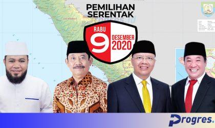 Paslon Gubernur dan Wakil Gubernur Bengkulu