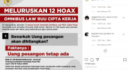 hoax Omnibus Law Cipta Kerja
