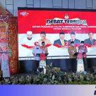 Debat kandidat terbuka Cagub Cawagub Provinsi Bengkulu tahun 2020 di Hotel Mercure Bengkulu, Senin malam (Foto: Istimewa/PROGRES.ID)
