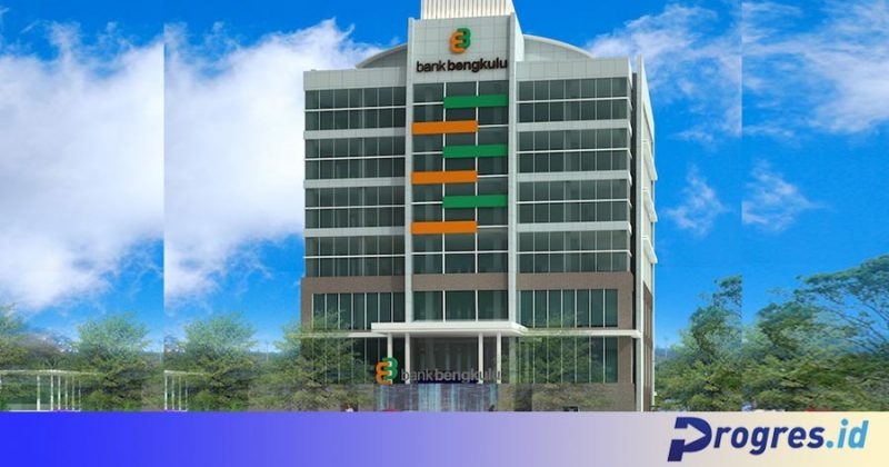 Kantor Pusat Bank Bengkulu di Jalan S Parman Kota Bengkulu (3D) (Sumber: Cmmperencana.com)