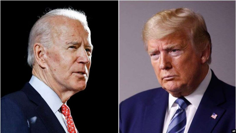 Joe Biden - Donald Trump (Foto: AP via  VOA Indonesia)