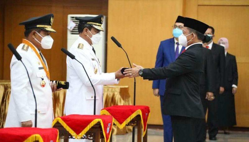 Mendagri melantik Penjabat Gubernur untuk 4 provinsi (Foto: Media Center Pemprov Bengkulu)