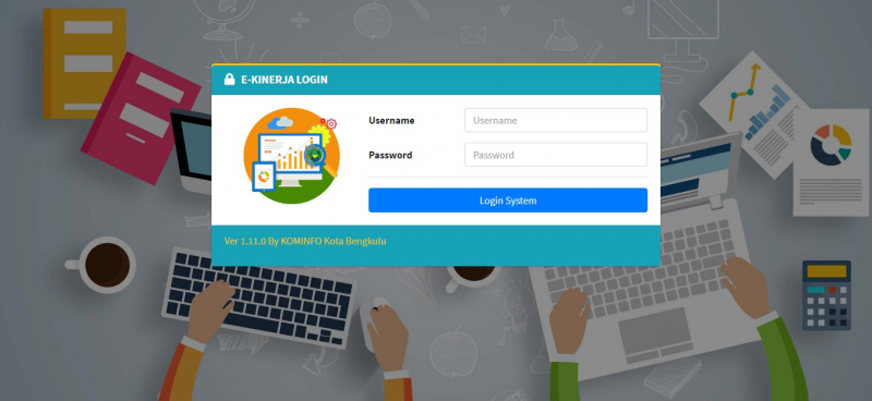 Laman e-Kinerja Kota Bengkulu